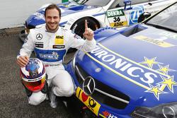 Polesitter Gary Paffett, ART Grand Prix, Mercedes-AMG C63 DTM