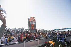 Marc Márquez, Repsol Honda Team, festeja.