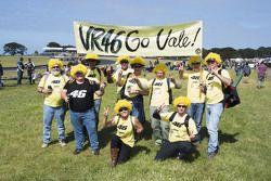 Aficionado de Valentino Rossi, Yamaha Factory Racing