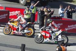 Marc Márquez, Repsol Honda Team y Cal Crutchlow, CWM LCR Honda