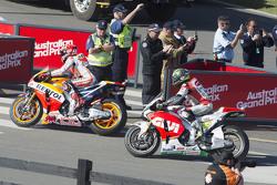 Marc Marquez, Repsol Honda Team e Cal Crutchlow, CWM LCR Honda