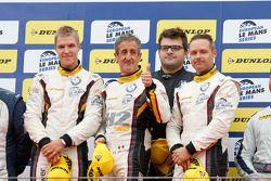 GTC-Podium: 1. Andy Priaulx, Henry Hassid, Jesse Krohn, BMW Team Marc VDS