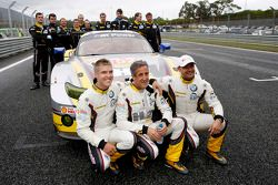 Andy Priaulx, Henry Hassid, Jesse Krohn, BMW Team Marc VDS