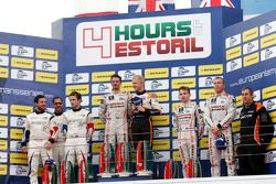 LMP3 podium: winners Michael Simpson, Gaëtan Paletou, Team LNT, second place Eric Trouillet, Garry F