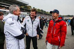 Jens Marquardt, BMW Motorsport Director and Mattias Ekström, Audi Sport Team Abt Sportsline, Audi A5 DTM