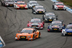 Старт: Джейми Грин, Audi Sport Team Rosberg Audi RS 5 DTM