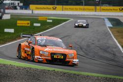 Jamie Green, Audi Sport Team Rosberg Audi RS 5 DTM devant Mattias Ekström, Audi Sport Team Abt Sportsline, Audi A5 DTM