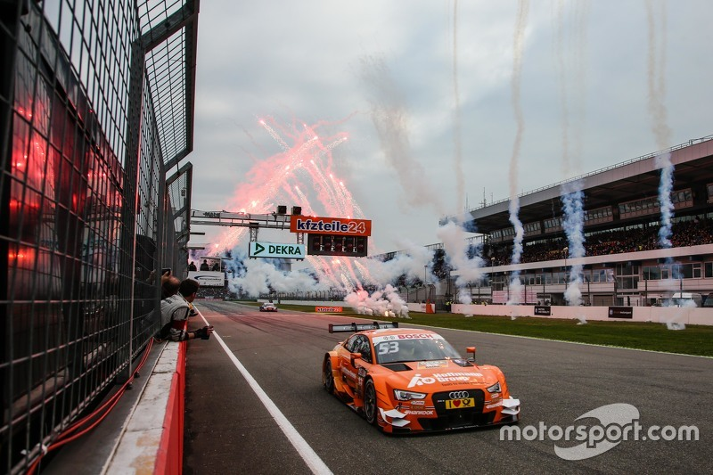 El ganador Jamie Green, Audi Sport Team Rosberg Audi RS 5 DTM