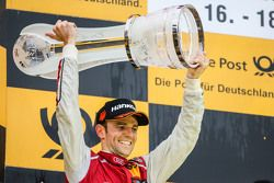 Championship podium: second place Jamie Green, Audi Sport Team Rosberg Audi RS 5 DTM