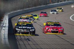 Martin Truex Jr., Furniture Row Racing Chevrolet and Kurt Busch, Stewart-Haas Racing Chevrolet