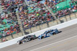 Brian Scott, Chevrolet and Jimmie Johnson, Hendrick Motorsports Chevrolet