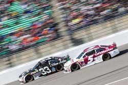 Brian Scott, Chevrolet y Kasey Kahne, Hendrick Motorsports Chevrolet