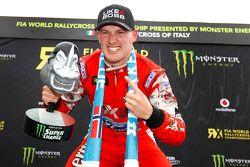 Победитель гонки Андреас Баккеруд, Olsbergs MSE, Ford Fiesta ST