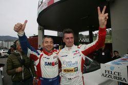I campioni 2015 della 1a divisione: Paolo Meloni e Massimiliano Tresoldi, W & D Racing Team
