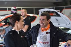 Valentina Albanese e Jordi Gené Guerrero, Seat Motorsport Italia