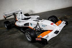 InMotion single-seater racer with electric engine designed by students at Eindhoven University of Technology and Fontys Hogescholen
