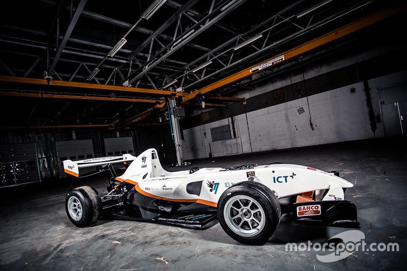 InMotion's elektrische formulewagen ontworpen door studenten van Technische Universiteit Eindhoven Fontys Hogescholen.