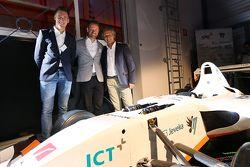 Nicky Catsburg, Xavier Maassen and Jan Lammers