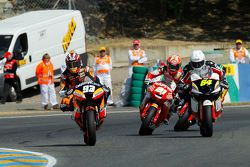 Il vincitore Marc Marquez, Team CatalunyaCaixa Repsol Suter