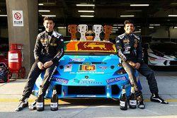 #24 Dilantha Racing Lamborghini: Armaan Ebrahim, Dilantha Malagamuwa