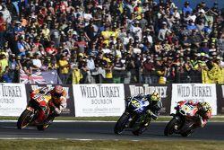 Marc Marquez, Repsol Honda Team, Valentino Rossi, Yamaha Factory Racing, Andrea Iannone, Ducati Team