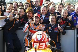 Победитель гонки - Марк Маркес, Repsol Honda Team