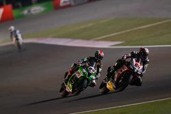 Jordi Torres, Aprilia Racing Team and Jonathan Rea, Kawasaki