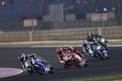 Randy de Puniet, VOLTCOM Crescent Suzuki et Leandro Mercado, Barni Racing Team