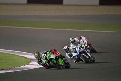 David Salom, Team Pedercini y Ayrton Badovini, BMW Motorrad Italia