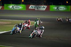 Sylvain Guintoli, Pata Honda et Randy de Puniet, VOLTCOM Crescent Suzuki