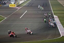 Javier Fores, Ducati Team et Michael van der Mark, Pata Honda