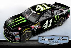 Kurt Busch 2016 Monster Energy paint scheme