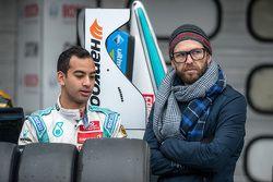 Nabil Jeffri, Motopark Dallara Volkswagen et son entraîneur Chris van der Drift
