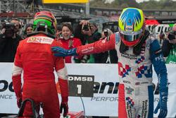 Lance Stroll, Prema Powerteam Dallara Mercedes-Benz; Jake Dennis, Prema Powerteam Dallara Mercedes-Benz