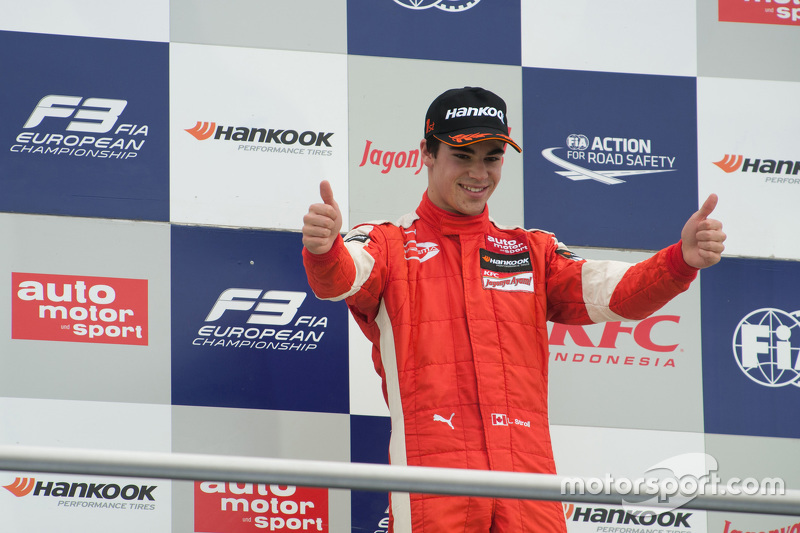 Race 1 Winner Lance Stroll, Prema Powerteam Dallara Mercedes-Benz