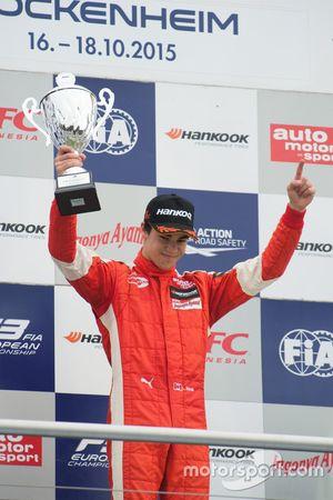 Race 1 Winner Lance Stroll, Prema Powerteam Dallara Mercedes-Benz