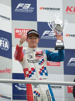 Gara 1 secondo posto Jake Dennis, Prema Powerteam Dallara Mercedes-Benz