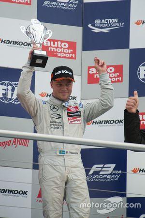 1. Yarış üçüncüsüsü Felix Rosenqvist, Prema PowerTeam Dallara Mercedes-Benz