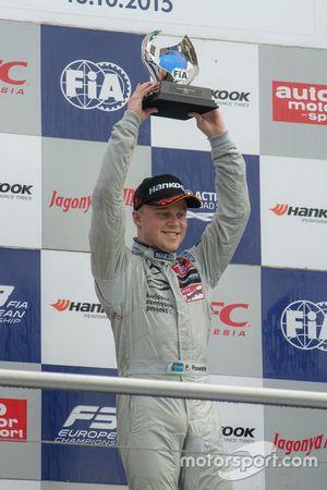 2015 Champion Felix Rosenqvist, Prema Powerteam Dallara Mercedes-Benz