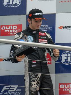 2015 Rookie Champion Charles Leclerc, Van Amersfoort Racing Dallara Volkswagen