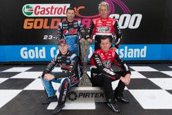 Mark Winterbottom and Steve Owen, Prodrive Racing Australia Ford with Garth Tander and Warren Luff,