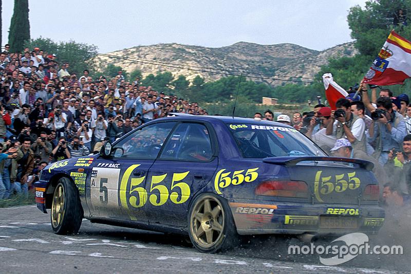Carlos Sainz dan Luis Moya, Subaru World Rally Team