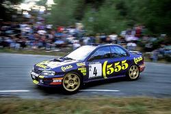 Colin McRae and Derek Ringer, Subaru World Rally Team