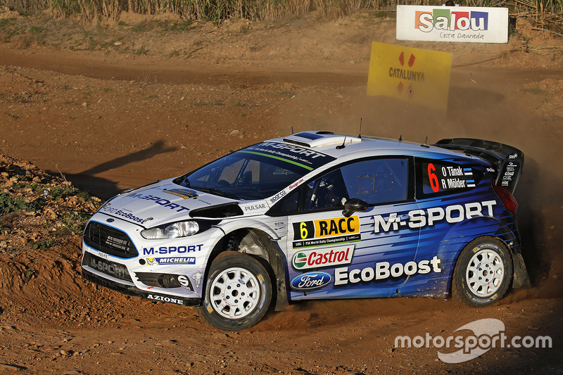 2015: Ott Tanak y Molder Raigo, M-Sport World Rally Team, Ford Fiesta WRC