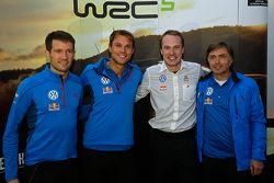 Sébastien Ogier, Andreas Mikkelsen, Jari-Matti Latvala, Jost Caputo, Volkswagen Motorsport