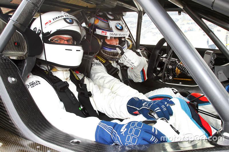 Motorsport.com Germany's Штефан Зіглер з Алекс Занарді