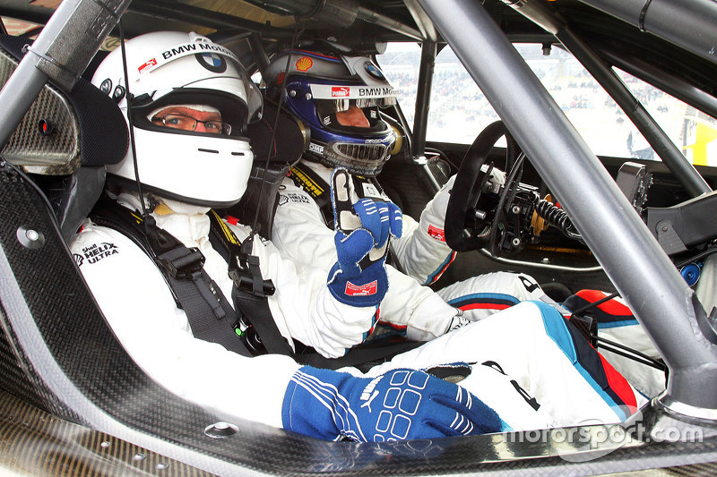 Motorsport.com Germany's Stefan Ziegler bersama Alex Zanardi