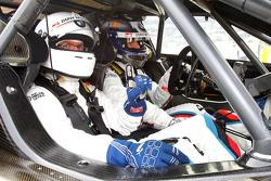 Stefan Ziegler de Motorsport.com Alemania con Alex Zanardi
