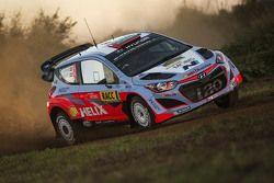 Daniel Sordo und Marc Marti, Hyundai i20 WRC, Hyundai Motorsport