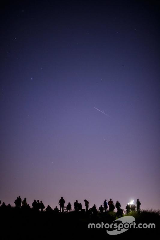 Fans en meteorenregen